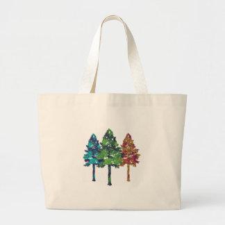 Natural Hues Large Tote Bag