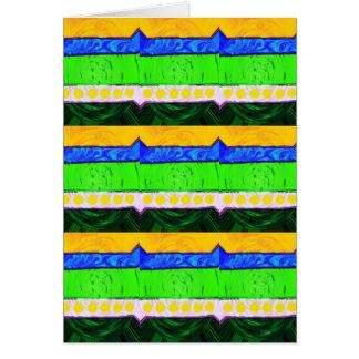 Natural layers greeting card