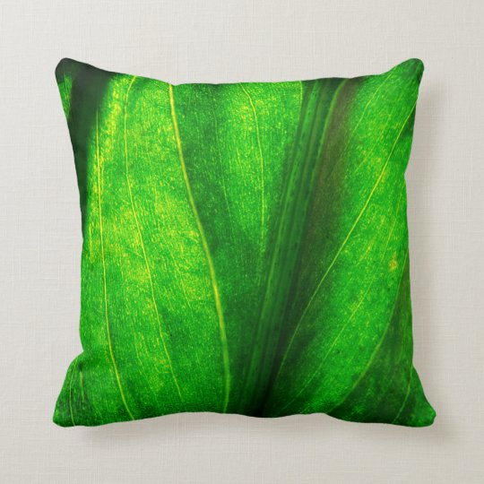 Natural Leaf Texture Cushion