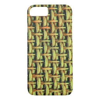 Natural look basket weave iPhone 7 case