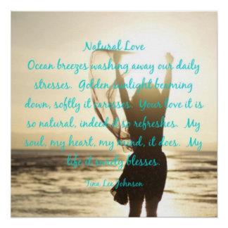 """Natural Love"" 20"" x 20"" Poster Paper(Semi-Gloss)"