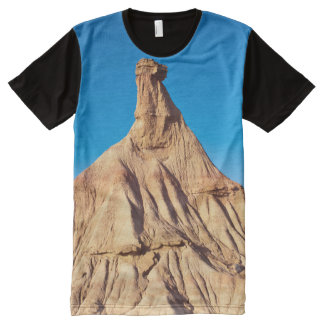 Natural monument of capricious forms, Bardenas All-Over Print T-Shirt