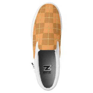 Natural Mosaic tile pattern design Printed Shoes