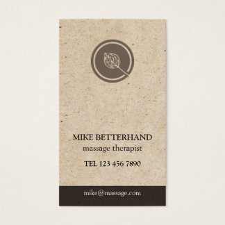 Natural Multi-Purpose Biz Card (brown)