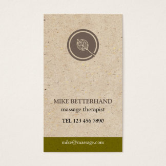 Natural Multi-Purpose Biz Card (gold)