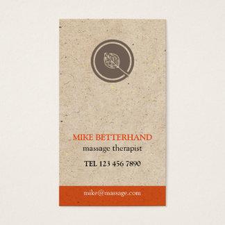 Natural Multi-Purpose Biz Card (orange)