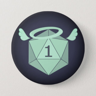 Natural One D20 Button