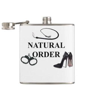 NATURAL ORDER HIP FLASK