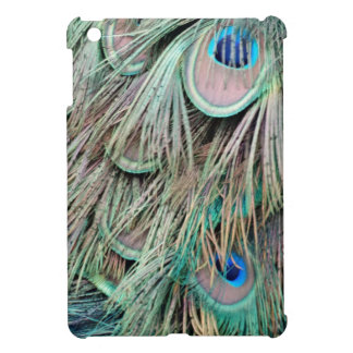 Natural Peacock Eyes Fluffy Feathers iPad Mini Case