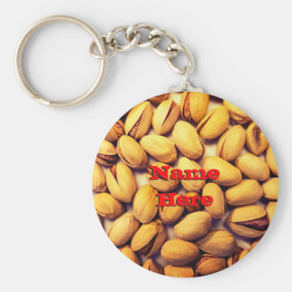 Natural Pistachios Key Ring