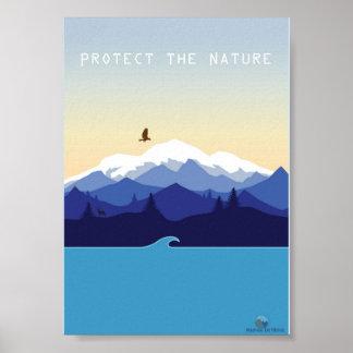 Natural Protect Poster