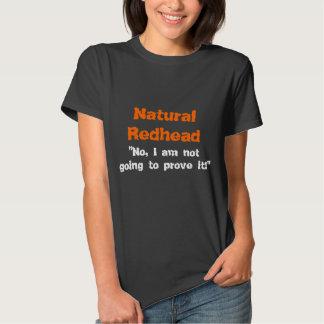 Natural Redhead Tee Shirt