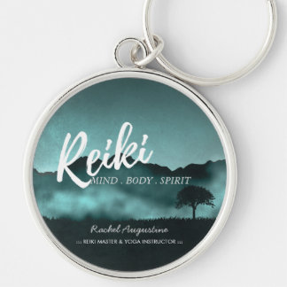 Natural Reiki Master and Yoga Mediation instructor Key Ring
