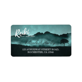 Natural Reiki Master and Yoga Mediation instructor Label
