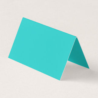 Natural Robin's Egg Blue Colour Business Card