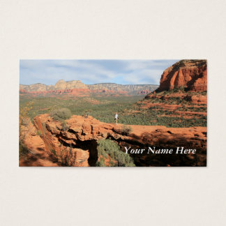 Natural Rock Formations Business Card