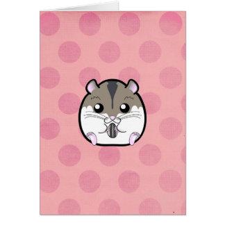 Natural Russian Dwarf Hamster Card