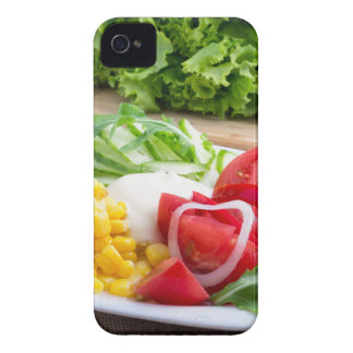 Natural salad of tomatoes, mozarella cheese Case-Mate iPhone 4 case