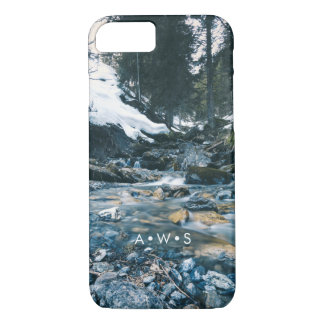 Natural Screen Scenery Personalized Initials iPhone 8/7 Case