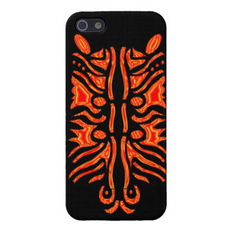 """ Natural Selection"" in red Cover For iPhone 5"