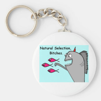 Natural Selection Product Basic Round Button Key Ring