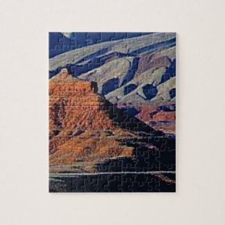 natural shapes of the desert jigsaw puzzle
