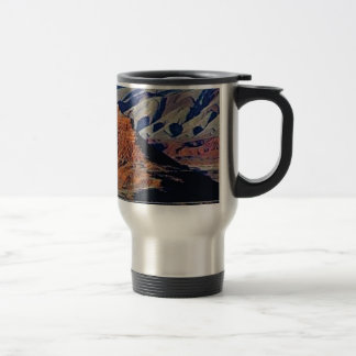 natural shapes of the desert travel mug