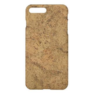 Natural Smoke Cork Bark Wood Grain Look iPhone 7 Plus Case