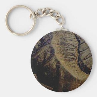 natural stitches key ring