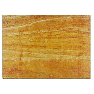Natural Stone Pattern Glass Cutting Board