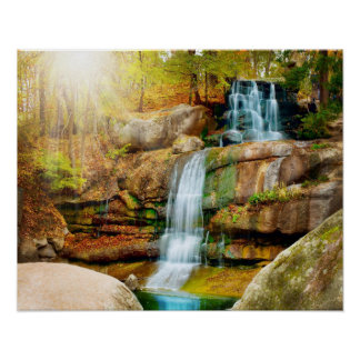 Natural, very natural Cascade poster! Poster
