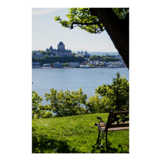Natural View Of Quebec City Poster