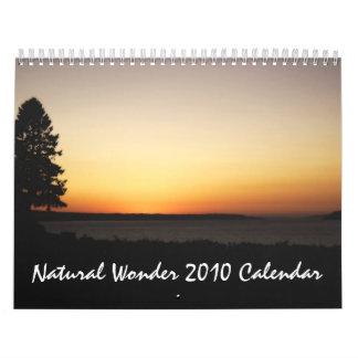 Natural Wonder 2010 Calendar