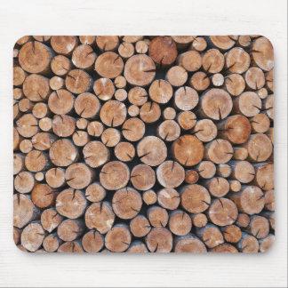 natural wood texture mousepad