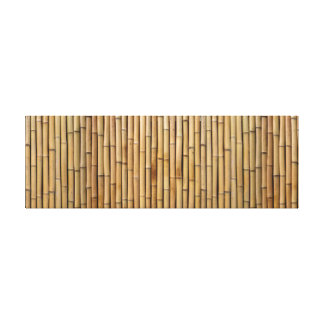 Natural Zen Bamboo. Canvas Print