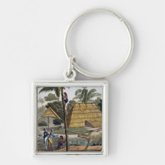 Naturalists question natives near Kupang, Timor, p Keychain
