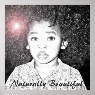 Naturally Beautiful Poster