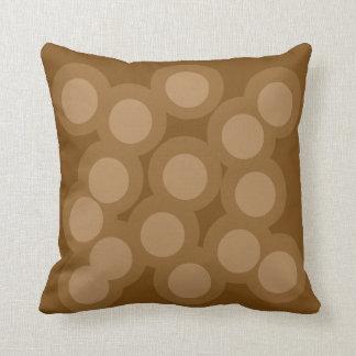 Naturally Natural Pillow/Cushion Vers 2 Circles Cushion