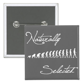 Naturally Selected Evolution Shirt 15 Cm Square Badge