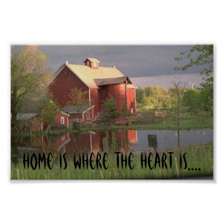 NATURE09, Home is where the heart is.... Poster