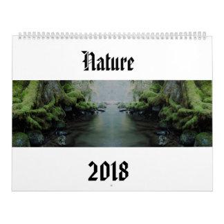 Nature 2018 calendar