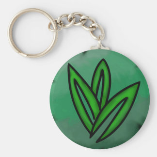 Nature Affinity Single Sided Keychain