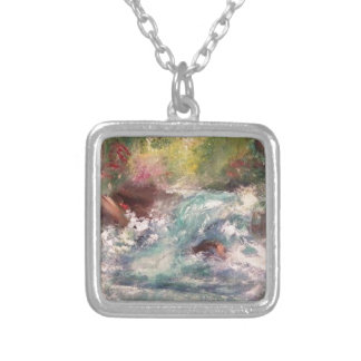 Nature Art 2.JPG Silver Plated Necklace