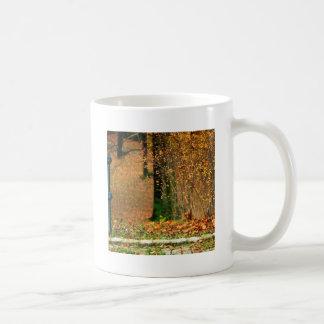 Nature Autumn Into The Woods Basic White Mug