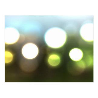 Nature Bokeh Blur Postcard