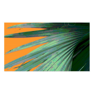 nature business cards tropical palm photo art