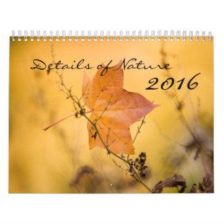 Nature Calendar 2016