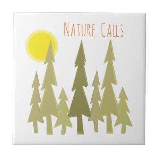 Nature Calls Tile