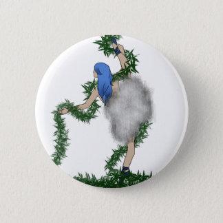 Nature Dancer 6 Cm Round Badge