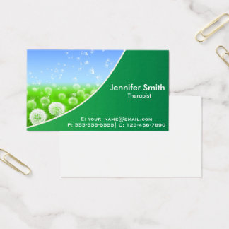 Nature Elegance | Therapist Business Card